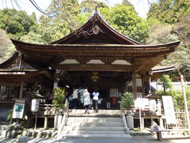 岩間寺です。