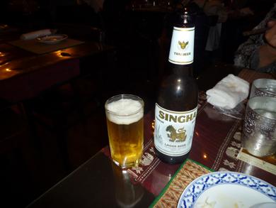 タイのビール、シンハー・ビールです。