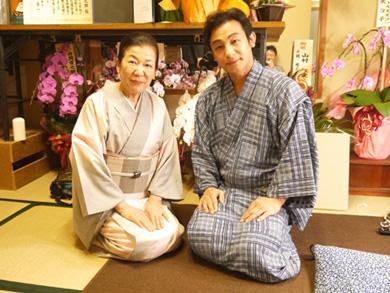 歌舞伎俳優・片岡愛之助さんと弊社女将